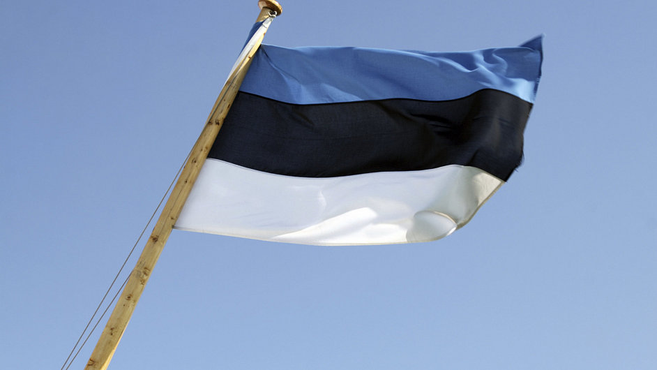 Estonsko, vlajka