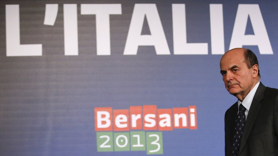 Pier Luigi Bersani. Itálie po volbách hledá vládu.