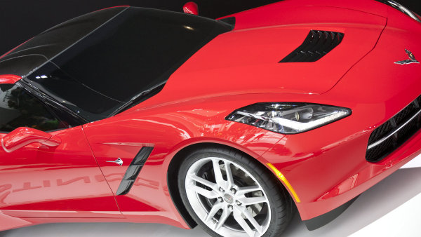 Chevrolet Corvette - ilustra�n� foto