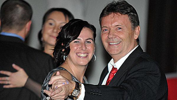 Dagmar Damkov� a Roman Berbr