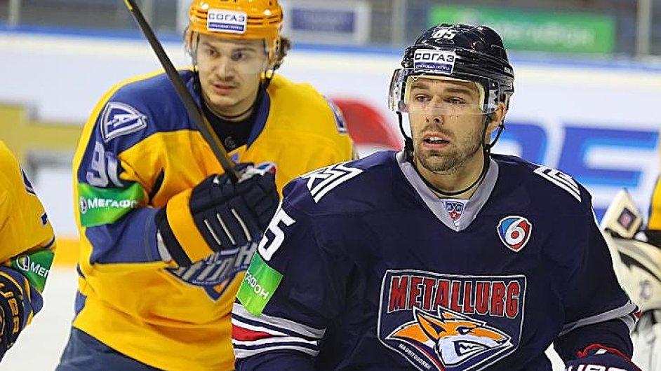 Milan Gulaš v dresu Magnitogorsku
