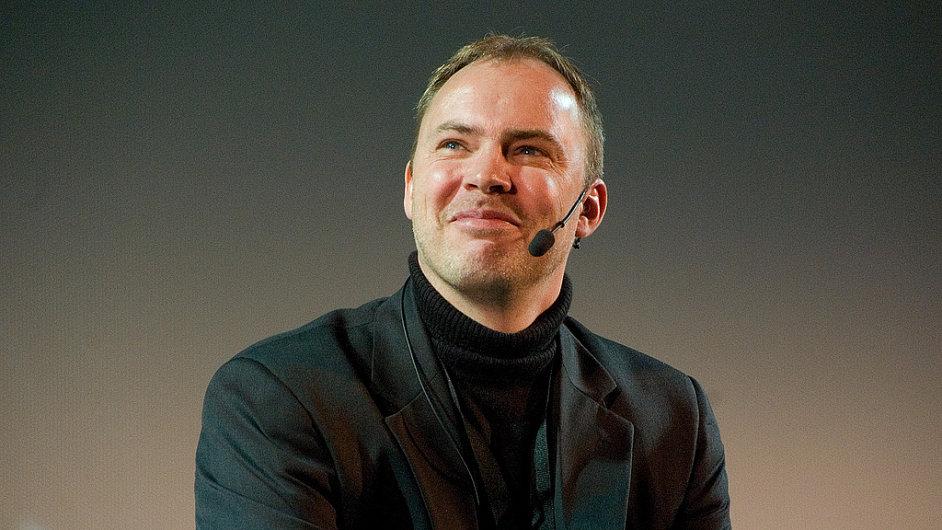 Bývalý manažer Facebooku a nynější šéf venture kapitálového fondu Net Jacobsson.