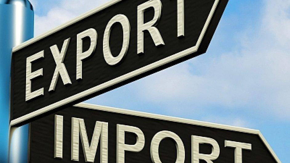 Přebytek zahraničního obchodu je o 0,3 miliardy nižší.