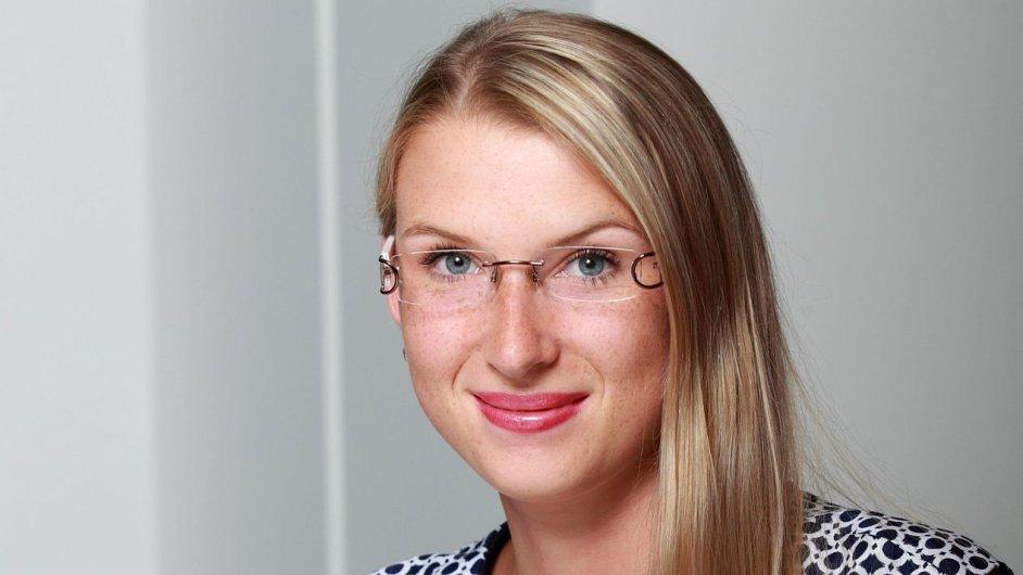 Veronika Kúšiková, šéfka korporátní komunikace Unilever pro Česko a Slovensko