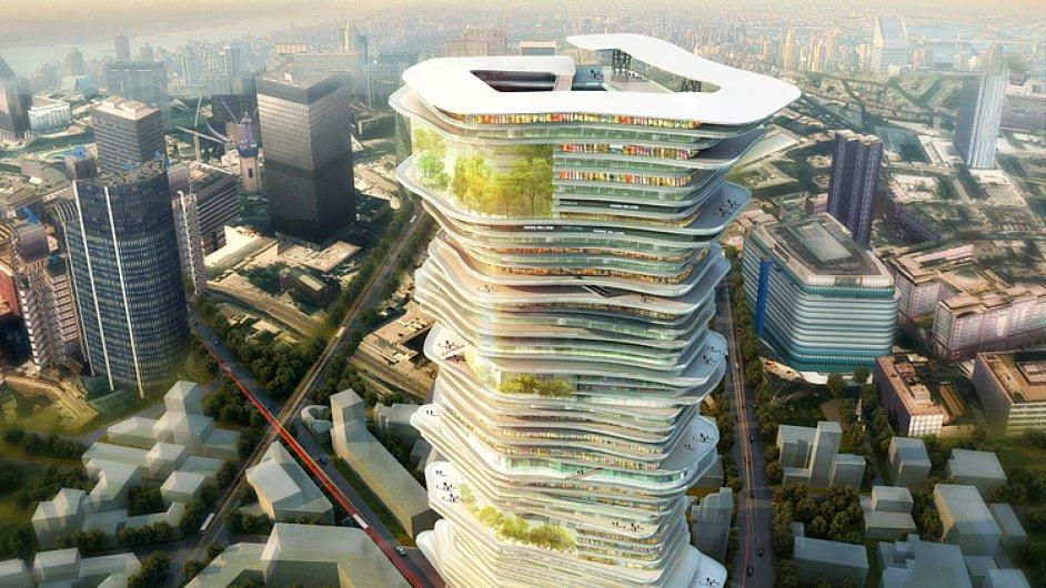 Projekt Nekonečné město od čínského architektonického studia SURE