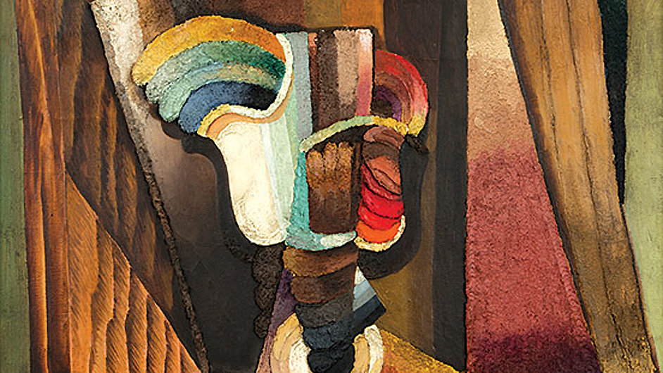 Antonín Procházka: Zatíší na stole, 1922
