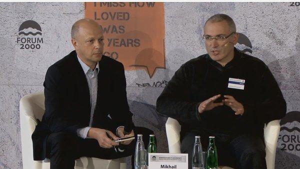 Michail Chodorkovskij na Foru 2000