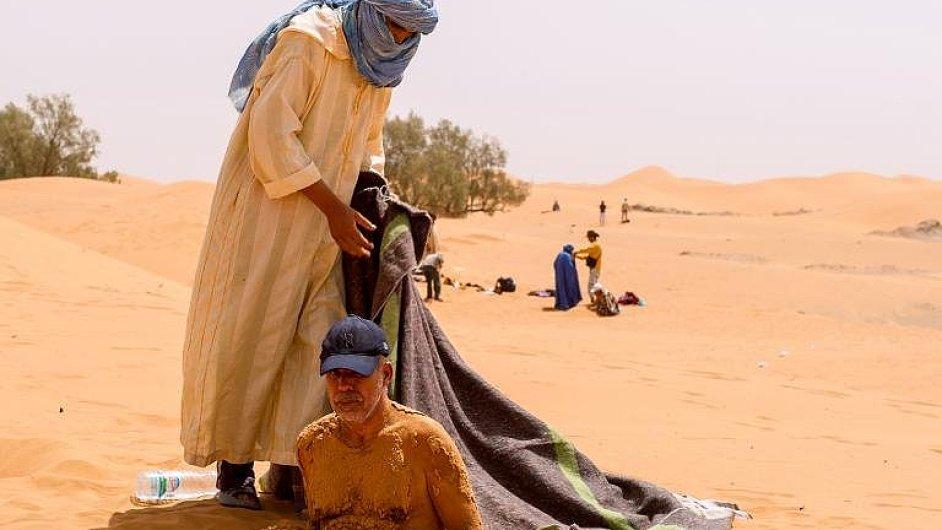 Zdravotní kúra v marocké poušti.