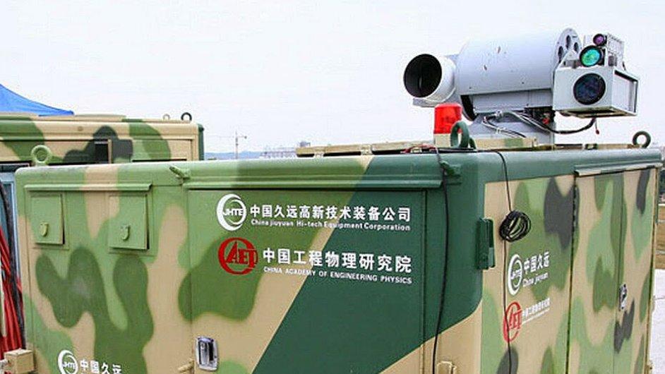 Nový čínský laserový zbraňový systém určený k likvidaci malých bezpilotních letounů