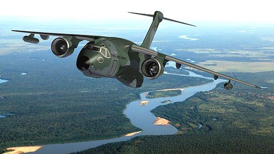 Vojenský transportní víceúčelový letoun KC-390