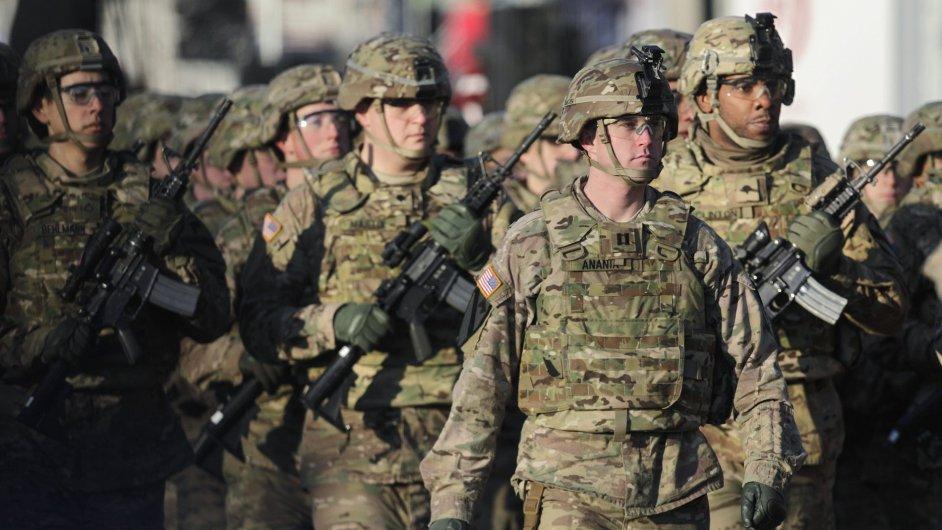 Jednotka americké armády. Ilustrační foto