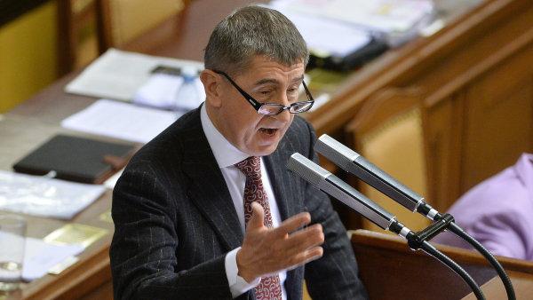 Ministr financ� Andrej Babi�