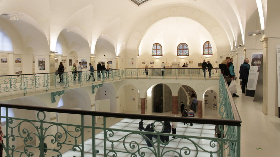Pohled do hlavní haly