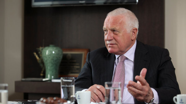 Bývalý prezident Václav Klaus požádal o vyšetření údajné korupce kolem amnestie, ilustrační foto.