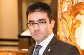 Konstantin Yonchev, ředitel obchodního oddělení společnosti Hotely Hilton Prague a Hilton Prague Old Town