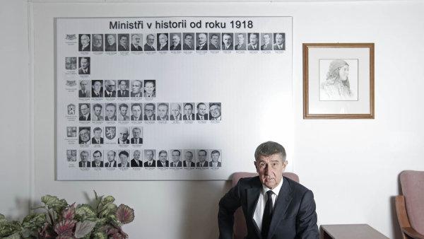 Ministr financ� Andrej Babi� p�izn�v�, �e d�t resort do po��dku je t잚�, ne� o�ek�val.