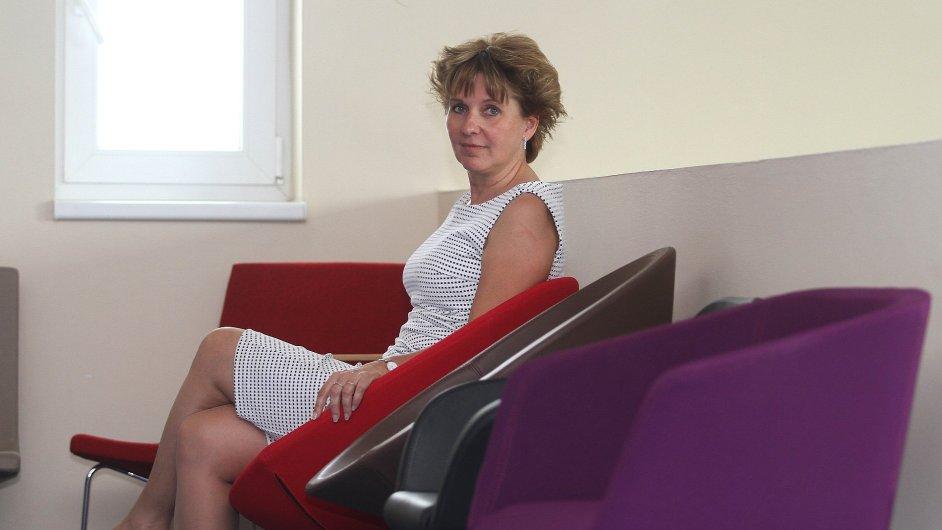 Majitelka firmy LD seatinng v Boskovicích Jiřina Hurábová.