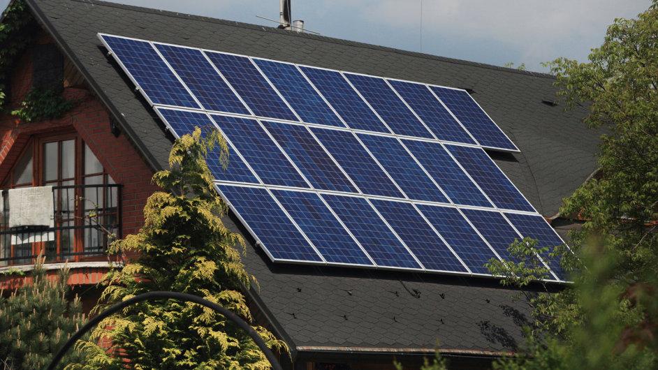 solární panel; solární energie