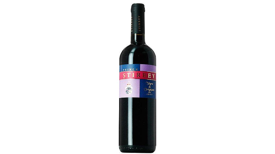 Víno Negru de Dragasani Reserva 2011 se vyrábí ve vinařství Prince Stirbey.