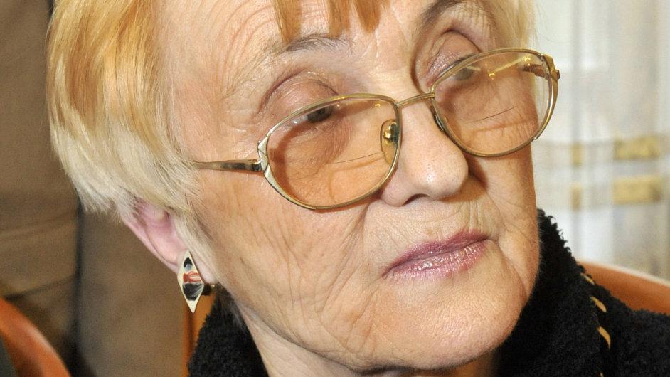 Zdena Mašínová se soudí o rodinný statek