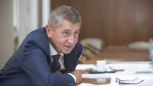 Ministr Babi� odvolal ��fa podniku provozuj�c�ho St�tn� pokladnu.