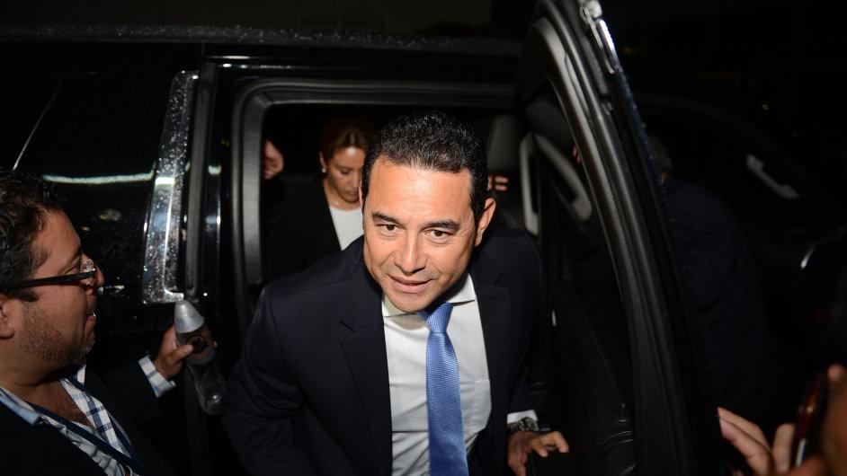 Jimmy Morales byl zvolen prezidentem Guatemaly.