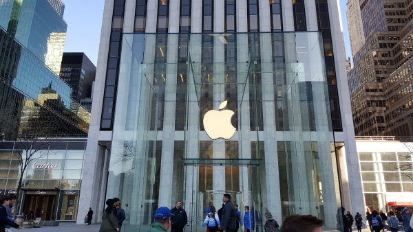 Apple v první polovině roku 2015 poskytl vládním složkám Spojených států informace o uživatelských účtech a někdy i jejich obsah v 81 procentech případů (ilustrační foto).