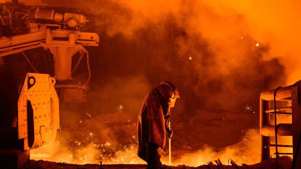 Méně železa a oceli se v Česku vyrobilo hlavně kvůli uzavření ocelárny Vítkovice Steel - Ilustrační foto.