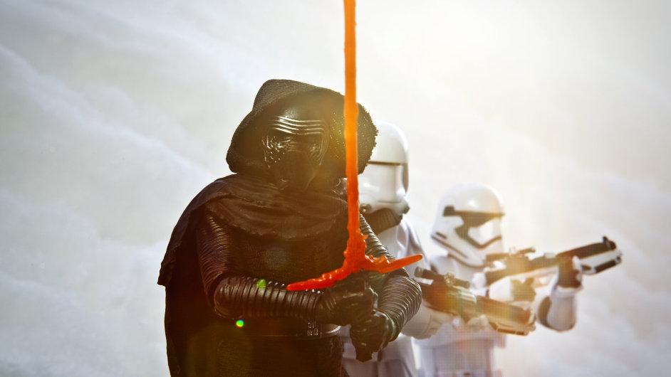 Hračky Star Wars pomohly společnosti Hasbro k růstu.