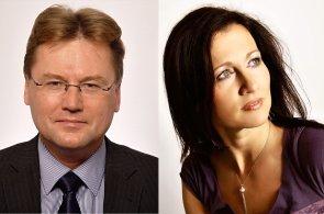Richard Král, manažer akvizic, a Kateřina Tesařová, specialistka klientských změn developera YIT