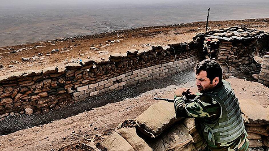 Snímek z filmu Peshmerga, jenž bude mít premiéru na festivalu v Cannes.