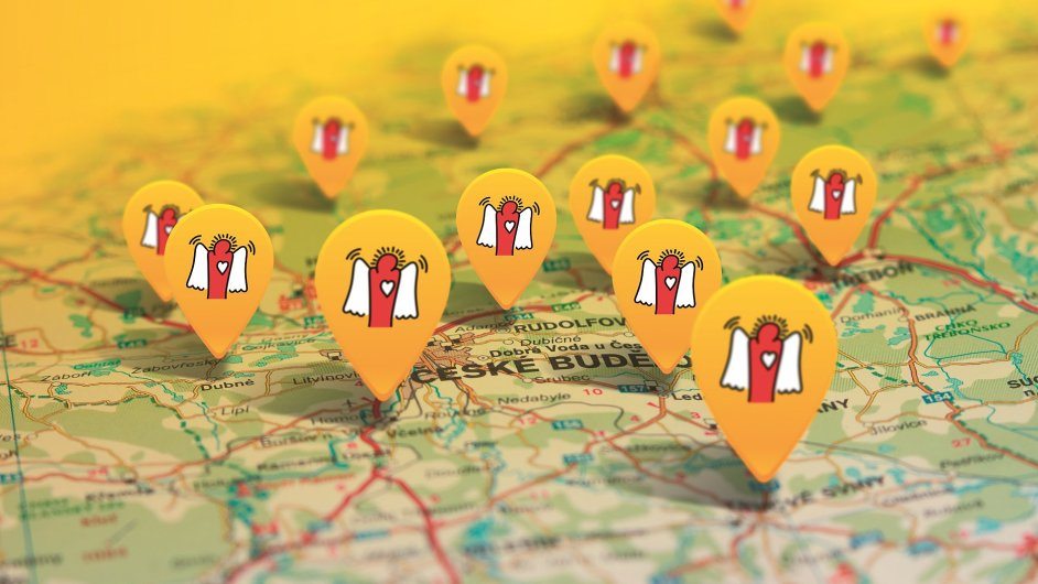Unikátní mapa ukazuje, kde žijí