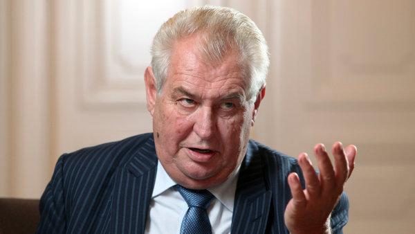 Zeman v rozhovoru s WP odmítl označení za proruského politika.