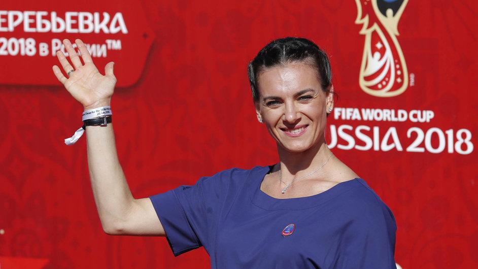 Tyčkařka Jelena Isinbajevová patří mezi ruské atlety, kterým hrozí, že na olympijských hrách v Rio de Janeiru nebudou startovat.