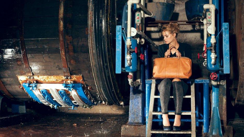Helena Dubnová vytváří kvalitní, hezké a současně funkční kabelky.