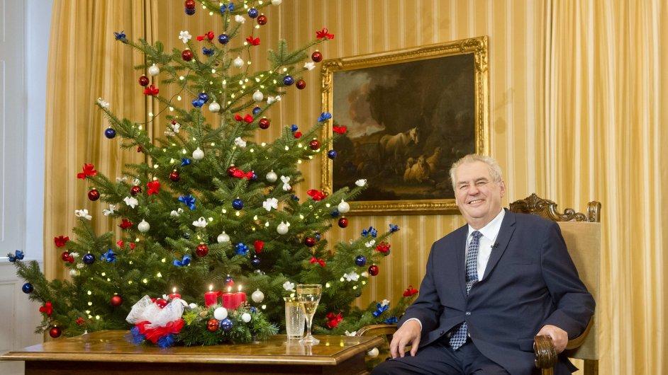 Vánoční poselství, Miloš Zeman