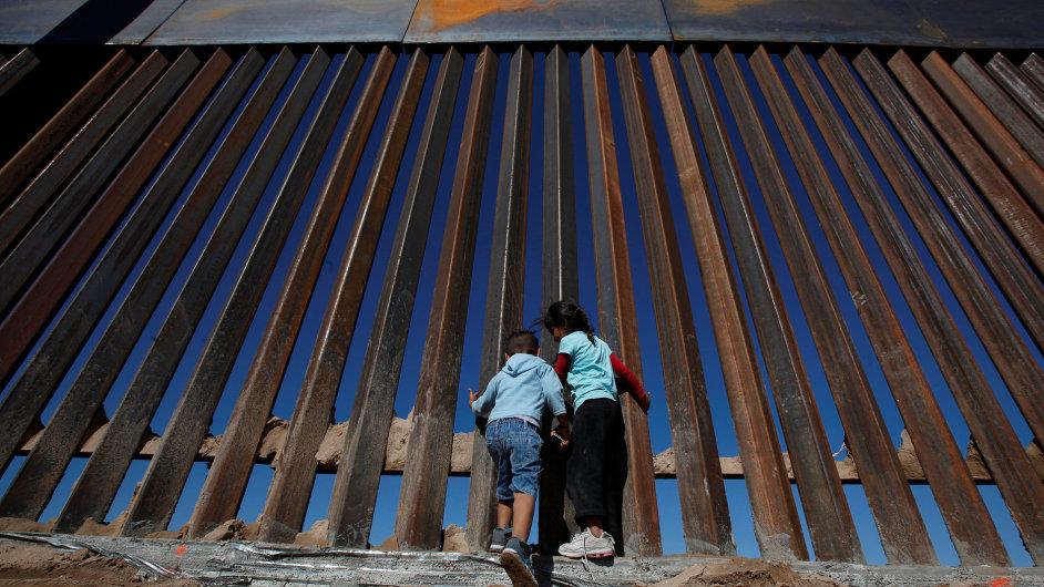 Mexiko USA zeď