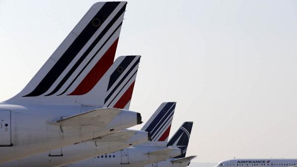 Pokuta se mimo jiné týkala i společnosti Air France - Ilustrační foto.