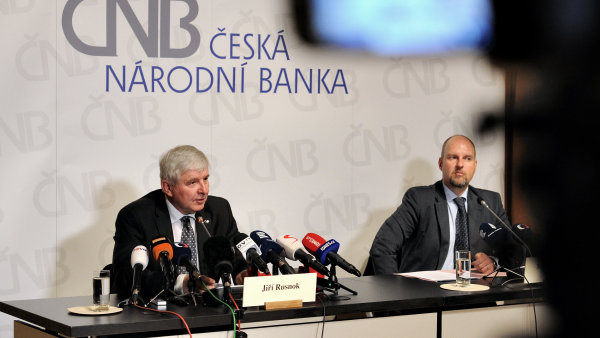 Guvernér ČNB Jiří Rusnok.