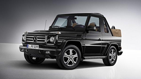 Nejdražším autem prodaným v bazaru byl Mercedes-Benz G500 Cabrio Final Edition 200.