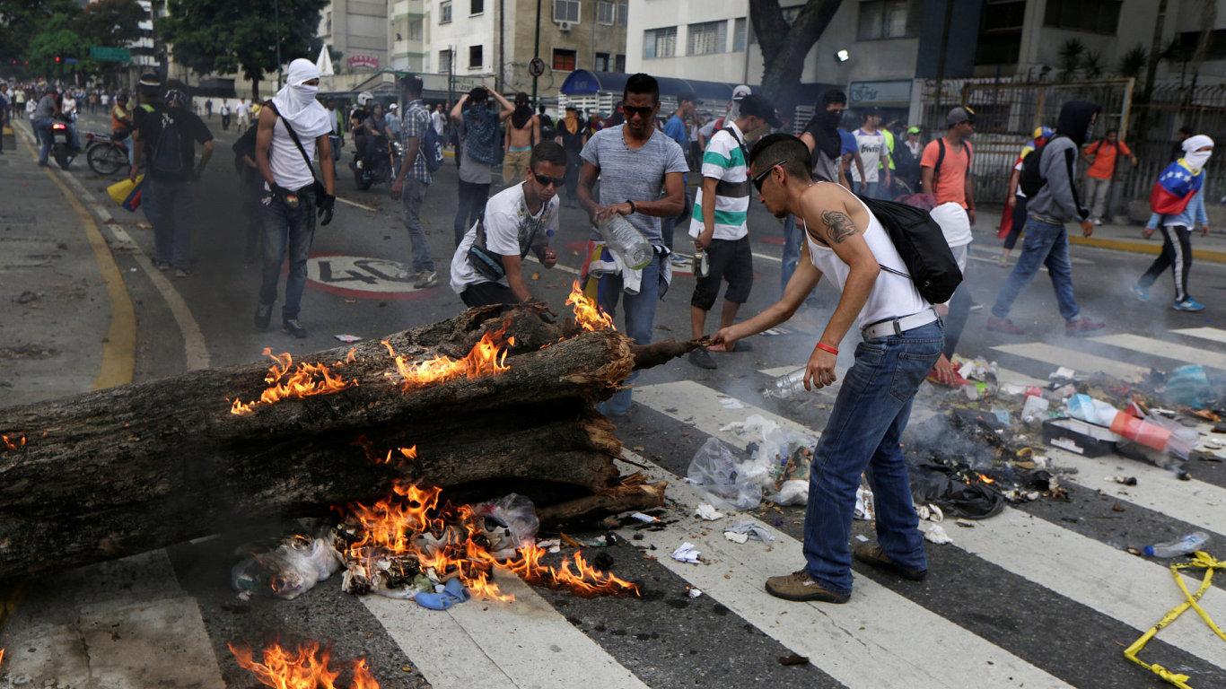 Venezuela protesty