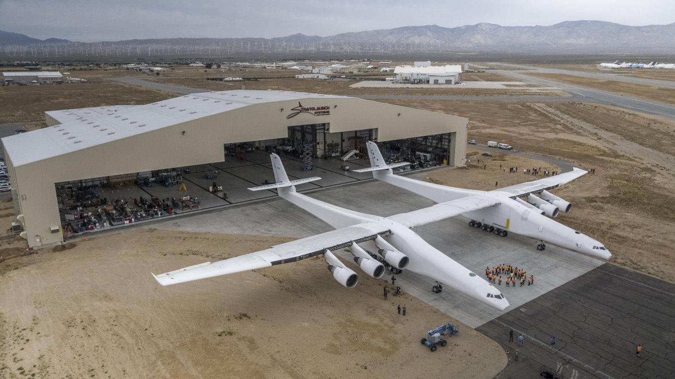 Letadlo společnosti Stratolaunch