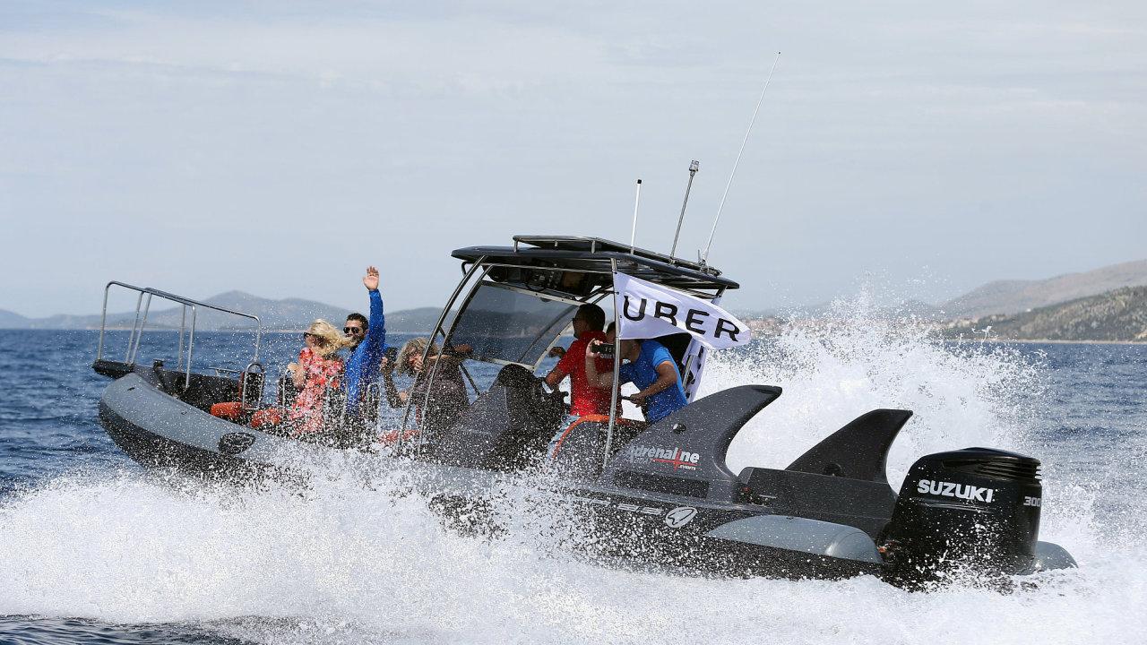Uberboat, Uber, Chorvatsko