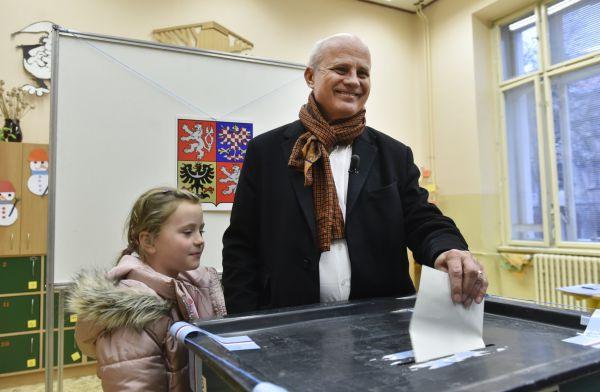Neúspěšný kandidát na prezidenta z prvního kola voleb Michal Horáček