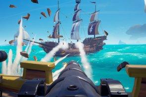 Sea of Thieves ukazuje nádherné moře a komiksové kostlivce, zábavu si ale musíte udělat sami