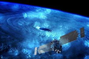 Vesmírný výzkum, satelit, družice, ilustrace