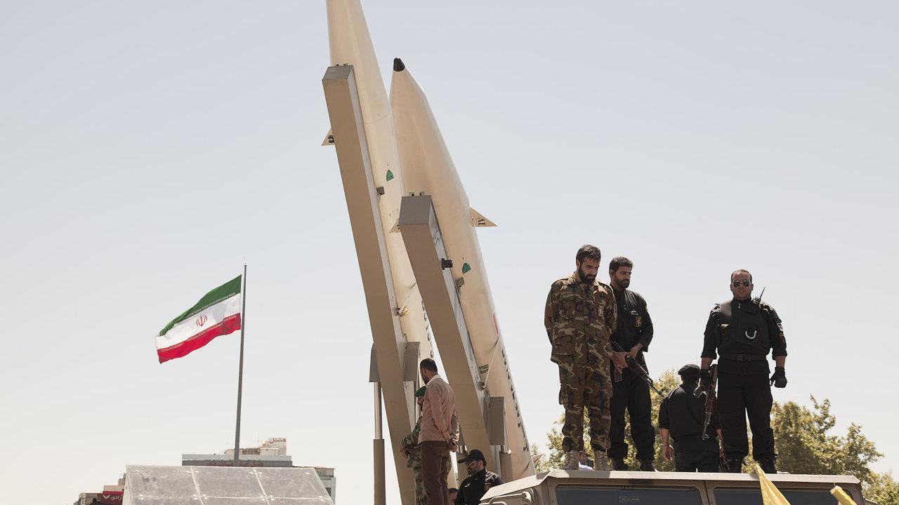 Iránská armáda - Ilustrační foto.
