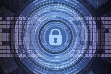 Kybernetická bezpečnost, šifrování, ilustrace