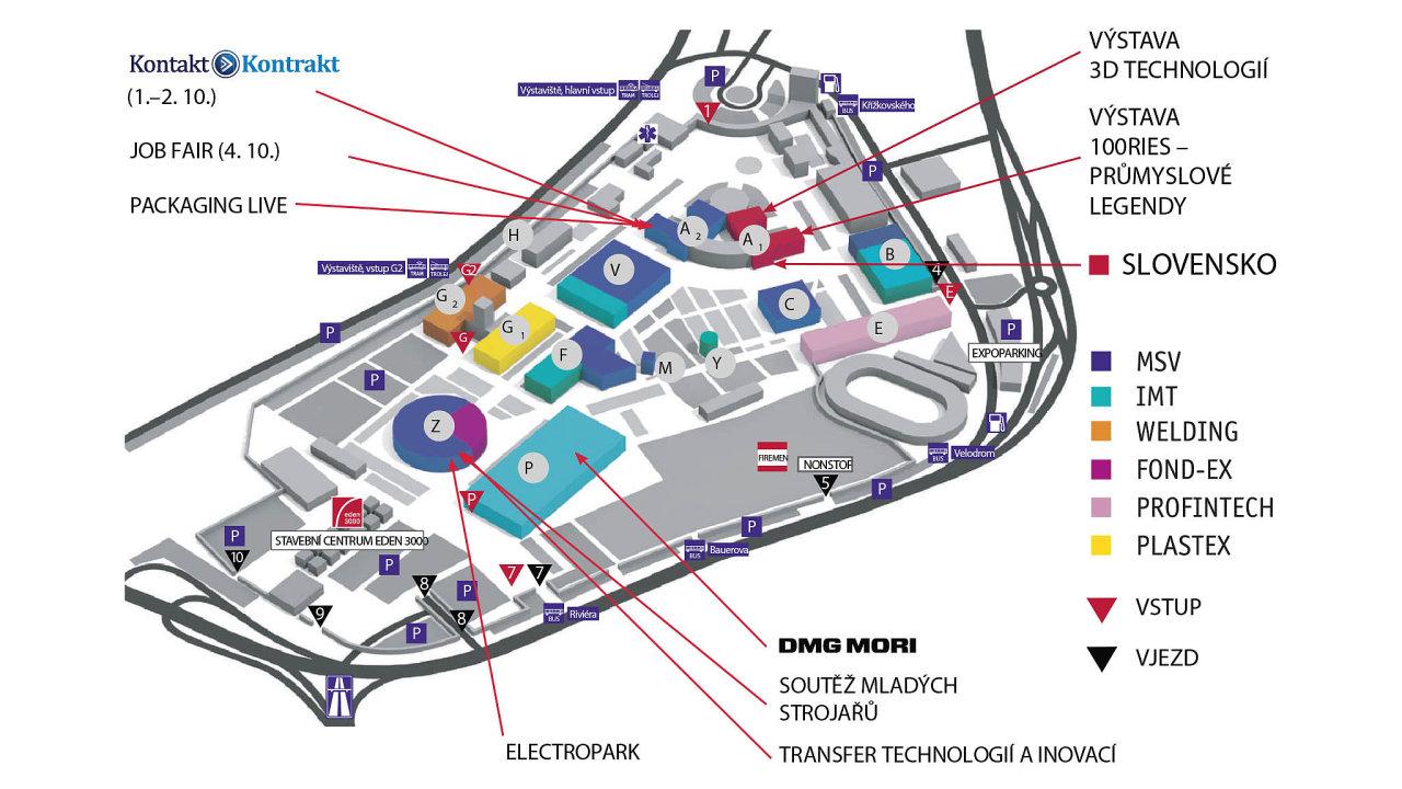 Návštěvníci výstaviště si mohou stáhnout aplikaci BVV Trade Fairs a na pár kliknutí získat podrobné informace o všech akcích, které se v areálu konají.