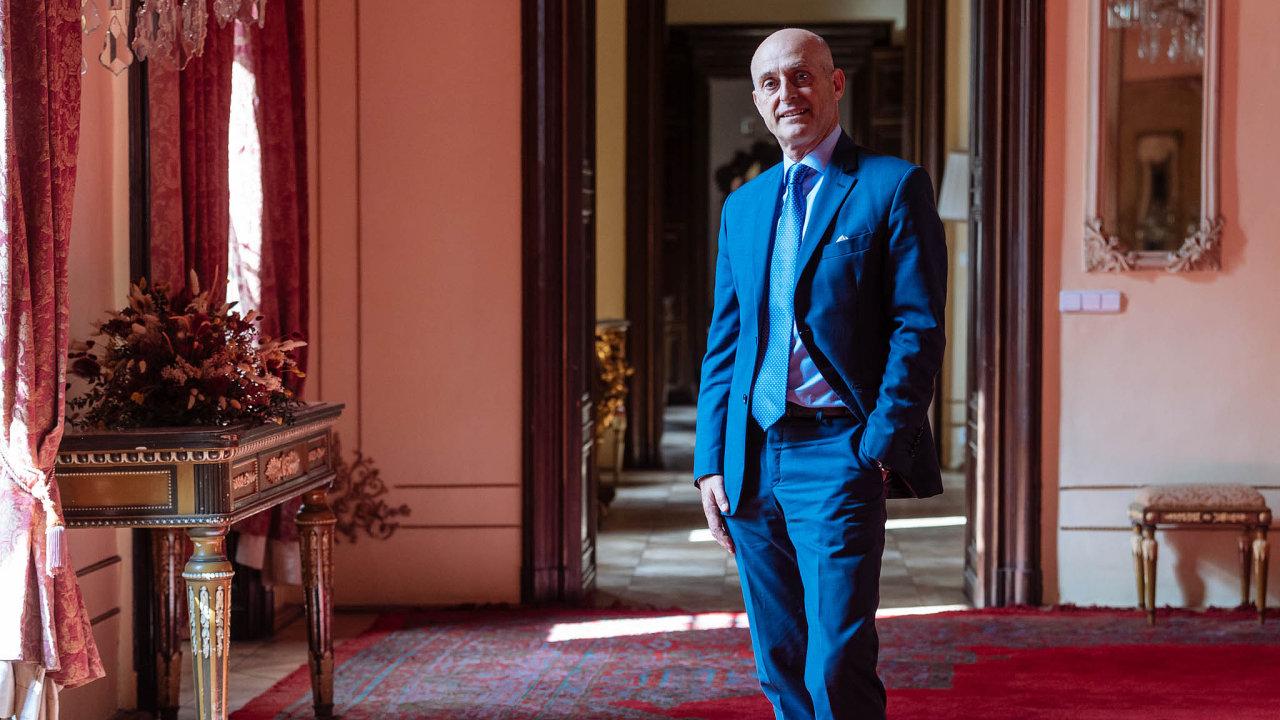 Italský velvyslanec v Praze Aldo Amati.